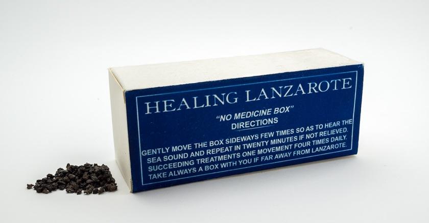 Healing Lanzarote - cajas de medicamentos (retro)