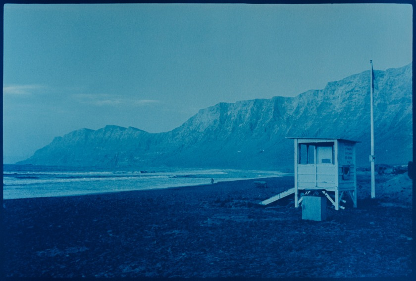 Famara beach vintage