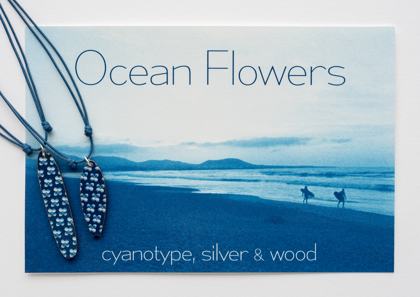 Ocean Flowers cyanotype surf 3