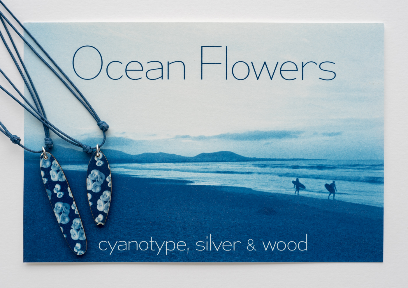 Ocean Flowers cyanotype surf 4